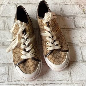 Coach Frances Sneakers Size 7B